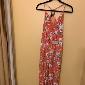 Timing maxi dress